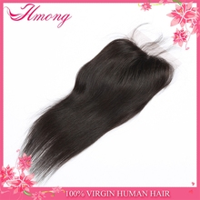 7A Straight Brazilian Hair Bundles with Lace Closure Malaysian Peruvian Indian Remy Virgin Human Hair Weaves Dyeable