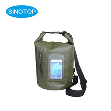 Feel free dry sack and ocean pack dry bag with pvc window