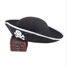 China factory promotional Halloween party captain pirate hat