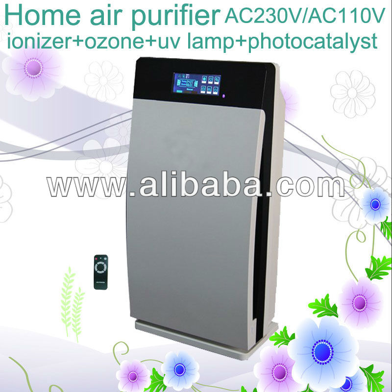 Multiply Air Purifier HEPA, Activated Carbon Ozone Negative ion UV GL-8138 Air freshener for homes