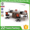 Four Seat Modern Office Workstation Desk