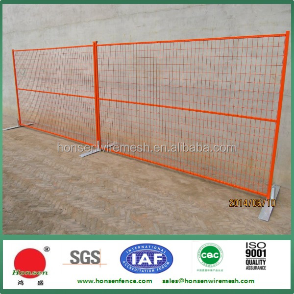 Used In Construction Removable Fence Iso9001 Temporary