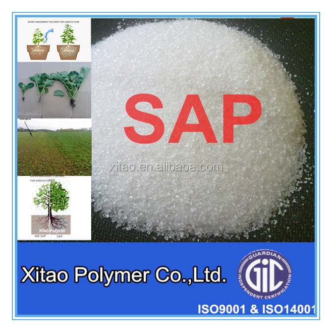 Super absorbent polymer(SAP) for agriculture use