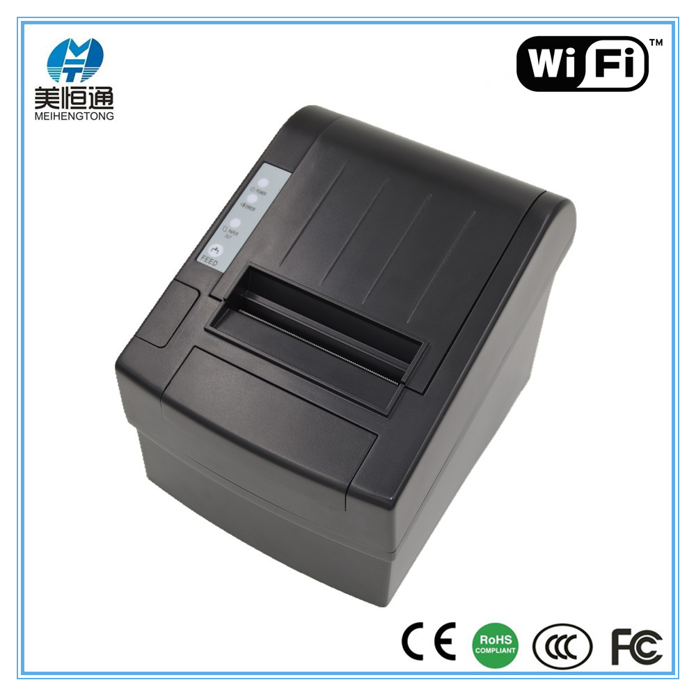 Android 80mm Auto Cutter POS Bill Receipt Printer Bluetooth Wireless WIFI Thermal Printer MHT-8220W