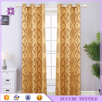 100% polyester curtain for Living Room Home Textile Modern Design Curtain for Living Room