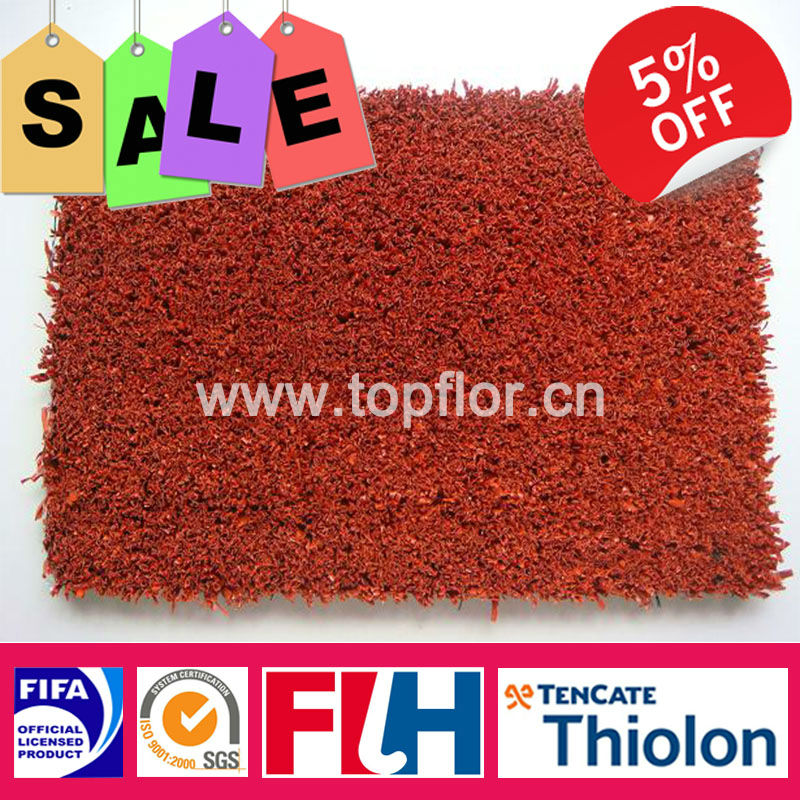 Color Turf Grass Red Artificial Grass