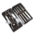 Professional stainless steel material tools manicure and pedicure set