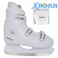 2017 hot selling high quality rental ice skate shoes for adults and teenagers in ice rink