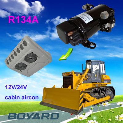 R134a bldc 12v electric ac compressor for thermo king roof air conditioner/van cooling system for campers