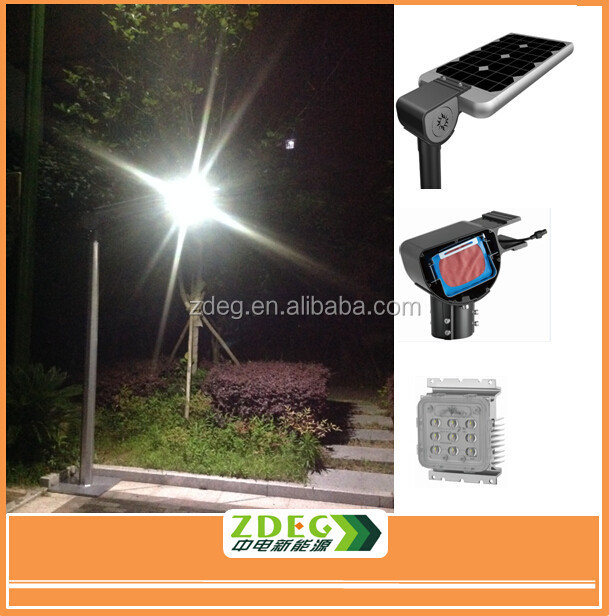 patented product solar power led street light all in one, LED Module Design integrated solar light street