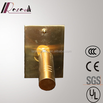 Zhongshan Factory Antique Brass 18W Modern LED Wall Lamp