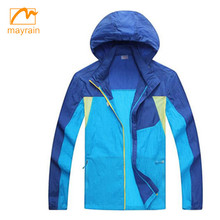 top sale light weight polyester rain jacket