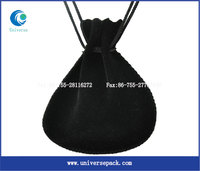 Stock for-sale Custom Velvet Drawstring Pouch Small Size