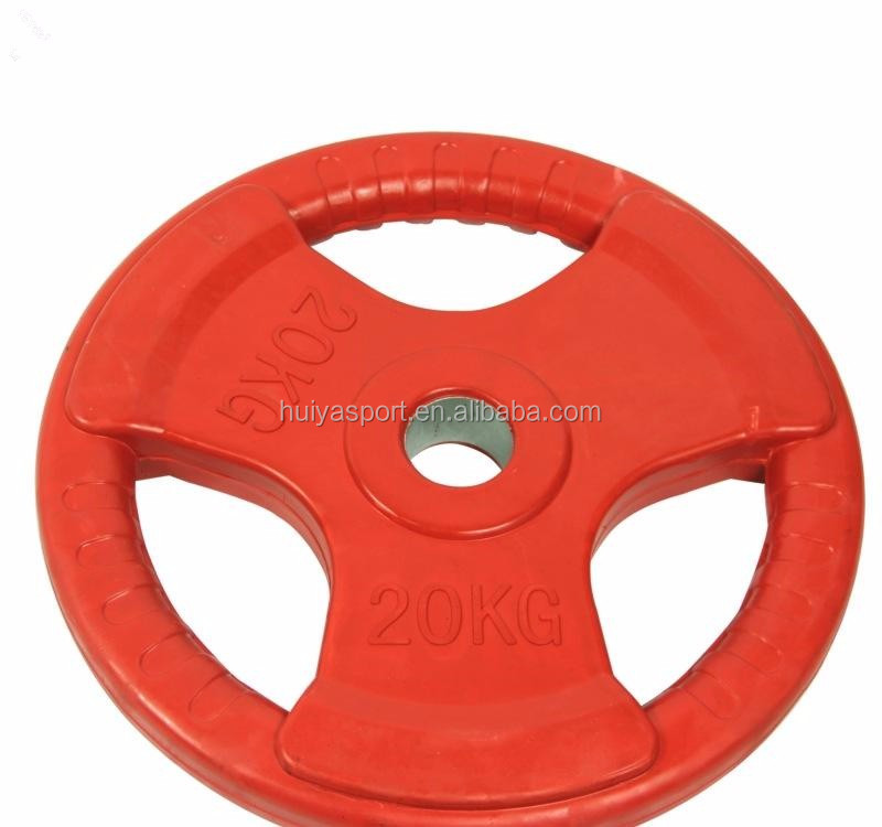 Commercial Color Rubber coated Weighting Plate/Gym Equipment