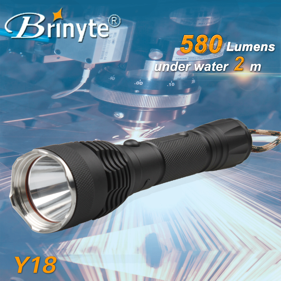Brinyte USB charging magnetic tail led flashlight torch