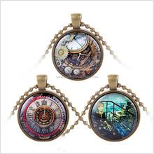 Steampunk pendants steampunk pendants direct from yiwu city saian 30mm steampunk necklace retrospective bronze pendants cheap price mozeypictures Gallery