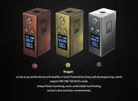 2016 vv vw ecig mod Artery vapor Gold Rush Kit 50 watt Mini Mod