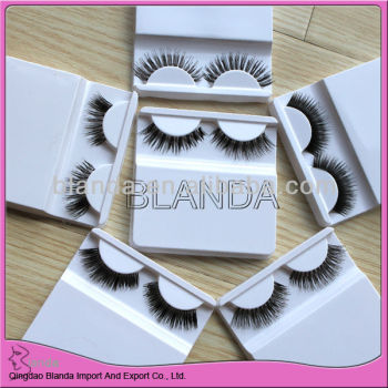full hand tied strip eyelash