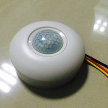 Light Control 3 Wire Adjustable Small Motion Sensor