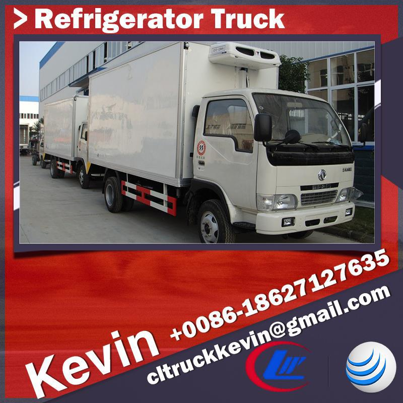 Mobile Kitchen Truck Refrigerator Cooling Van