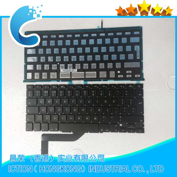 "NEW For Macbook Pro Retina 15"" A1398 US Keyboard No Backlight MC975 MC976 2012 Years"