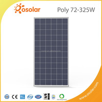 Osolar solar power panel factory/system poly pv 24v 250w 260w 265w 270w 280w 290w 300w solar panel