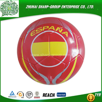wholesale promotional Emboss logo soccer balls pack