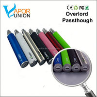 2015 mosler ecig 2600mah usb passthrough battery clover overlord root kylin mod