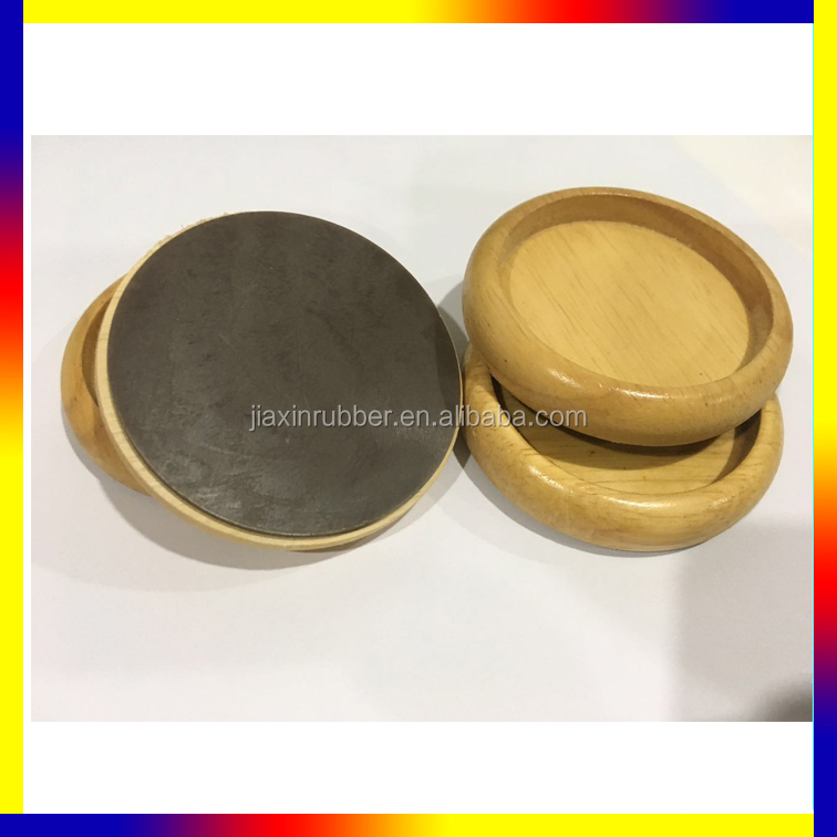 Piano Caster Cups, wooden,Anti-Slip & Reduce Noise