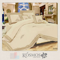 KOSMOS Embroidery gold duvet cover (imported duvet covers)