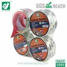 Super clear strong adhesive packaging bopp tape