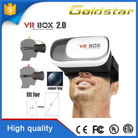 2016 VR BOX 2.0 3d glasses Universal Factory Price 3d video virtual reality Portable vr 3d glasses
