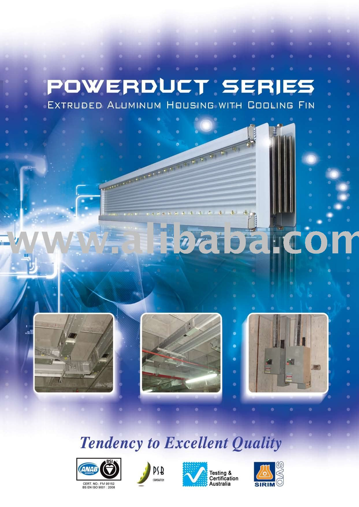 BUSWAY PPB POWERDUCT busduct trunking system,