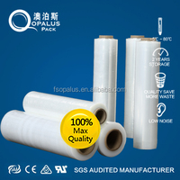 Protective Plastic Metalized Polyester LLDPE Transparent Stretch Film