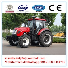 Agricultural machinery KH1204 farm tractor with snow sweeper