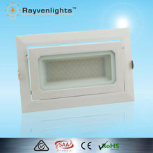 High lumen 50w CE approved led downlight square