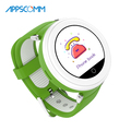 APPSCOMM 2018 Smart Watch Waterproof GPS Tracker Wristwatches Real Time Positioning Smart Watch Phone for Child