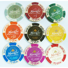 High quality plastic tokens casino poker chips custome poker chips 14g clay poker chips