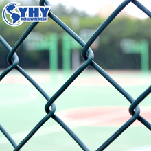 pvc coated temporary construction chain link fence(alibaba goldensupplier)