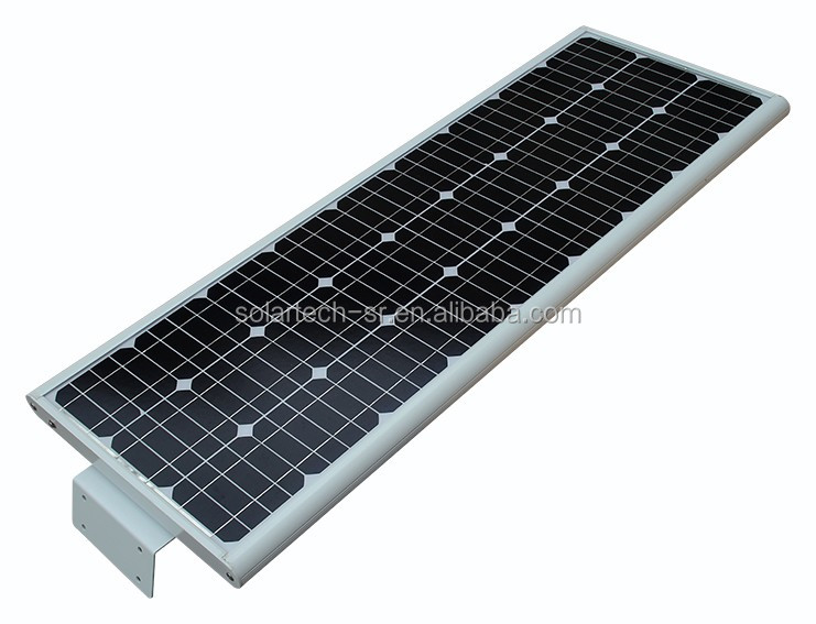 25% conversion solar panel solar integrated led street light all in one with battery backup more than 20 days