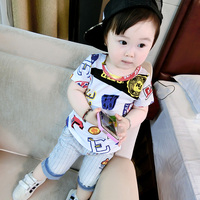 Factory Price Denims Jeans Shorts Newborn Baby Clothes Of Online Shop