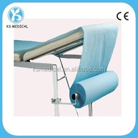 Disposable bed sheet rolls /massage table couch cover rolls