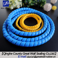 18mm modified PP spiral electrical wire protective cover/ cable protection hoses