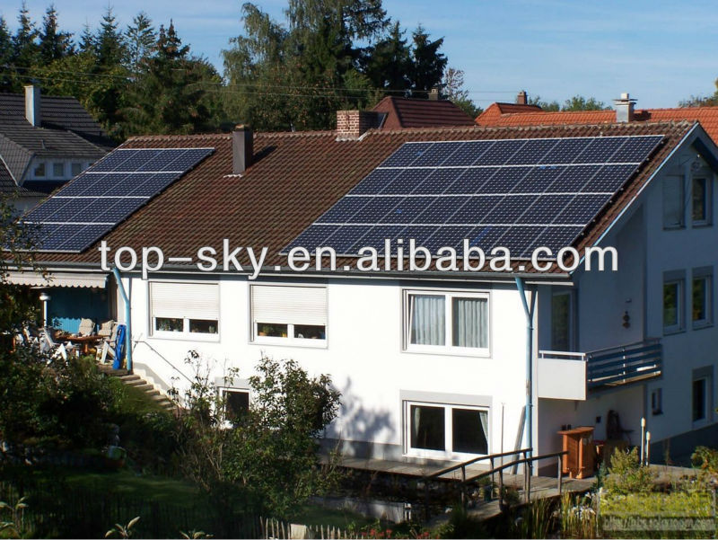 250W Poly Solar Panels with IEC Certification for Roof Solar System