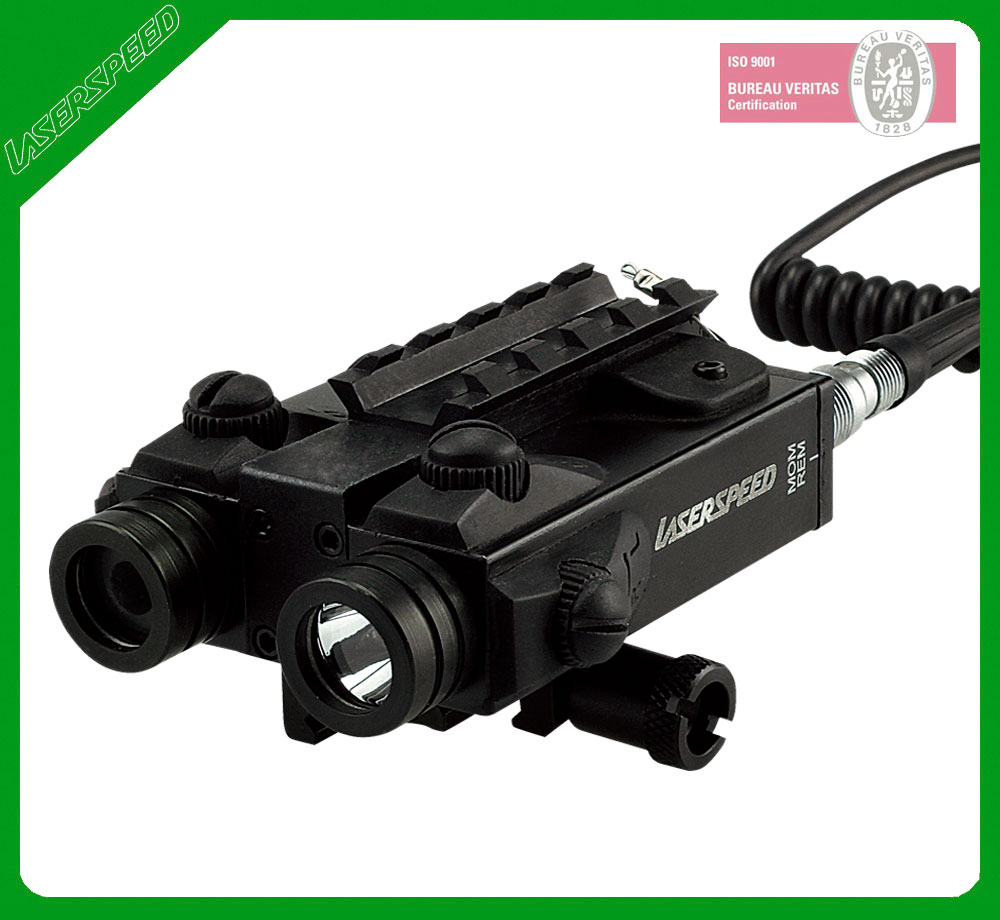Rifle Tactical Led Light Aiming Green Laser Scope Combo ...