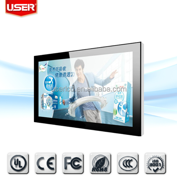 LCD AD Player WALL Mounted