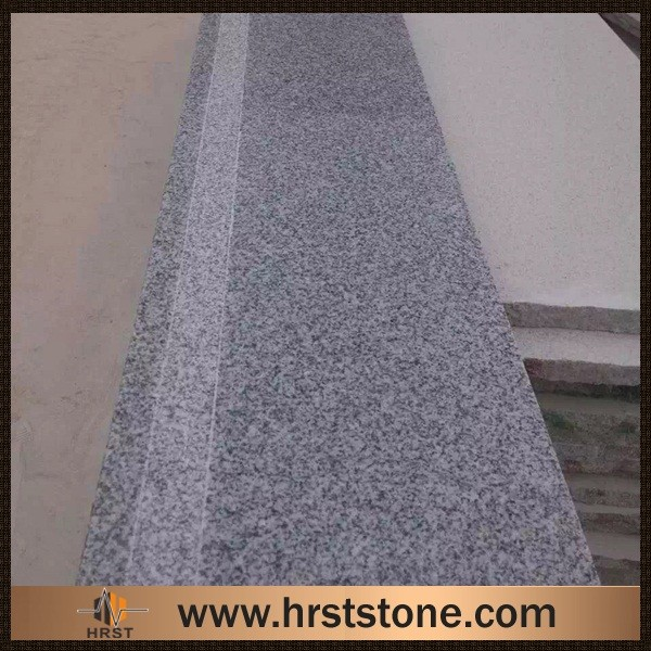 Cheap G603 silver granite stairs