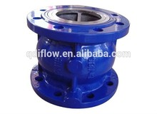 Vertical type flange water check valve DN50-300