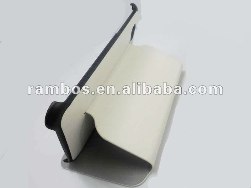 2012 fashion good quality leather case tablet pc with stand for Samsung Galaxy Tab P3100