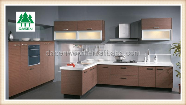 creative cheap waterproof mdf kitchen cabinet